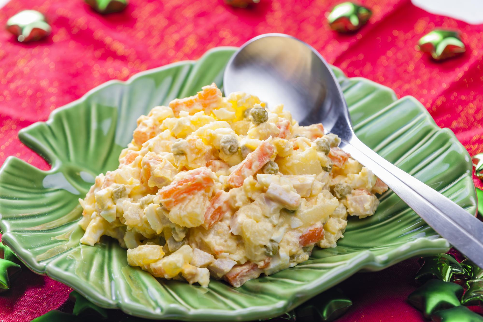 カシューナッツとサワークリームのポテトサラダ